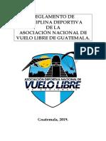 Reglamento Disciplinario de La ANVLG 2019