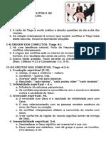 Estudo 8- A origem dos conflitos e como vencê-los.