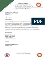 Letter for CMPMbuildings