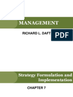 7. Strategy Formulation and Implementation