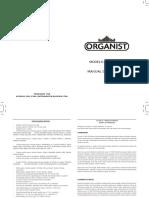 Modelo _ Yx-300 III Manual de Operação Produzido Por Kyodday Com. e Ind. Instrumentos Musicais Ltda.