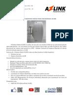 Radome Shield Para Antenas 34dBi