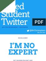 #MedStudentTwitter 05-06-2019
