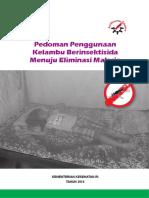 Buku Pedoman Penggunaan Kelambu 2014.pdf