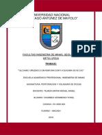 Glosario de Perforacion y Voladura 2019 - i