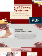 Tarsal Tunnel Referat stase neuro