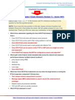 itexamanswers.net  – CCNP ROUTE Chapter 5 Exam Answers (Version 7) – Score 100%