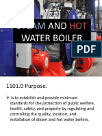 Steam and Hot Water Boiler