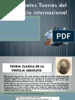 Principales Teorías Del Comercio Internacional