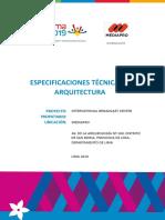 ESPECIFICACIONES TÉCNICAS ARQUITECTURA.docx