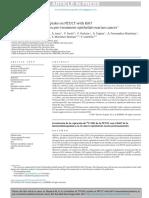 Correlación de Captacion f Fdg de Pet Ki67 Inmunohistoq Cancer Epitelial Ovario
