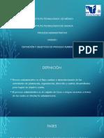Definicon y Objetivos Del Proceso Administrativo