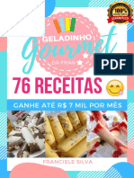 76 Receitas de Geladinho Gourmet