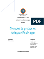 Informe Grupo 1 Metodos de Prediccion de Inyeccion de Agua