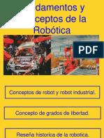 Fundamentos y Conceptos de La Robotica