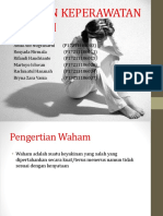 ASUHAN KEPERAWATAN WAHAM