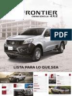 Frontier 4x2 Cabina Sencilla Digital