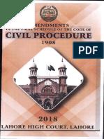 Amendments Civil Procedure 1908 Final 0