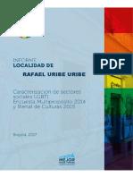 Caracterización de Sectores Sociales LGBTI