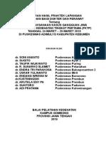 Contoh Laporan Pkl Keswa Adimulyo