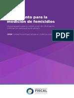UFEM Medición Femicidios 2017