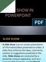 Presentation in Com-sci (Slide Show)