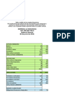 Taller Analisis de Los Estados Finacieros