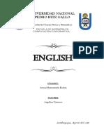 Avanzado Ingles 1