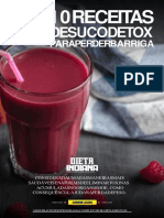 Sucos Detox - PARA PERDER BARRIGA