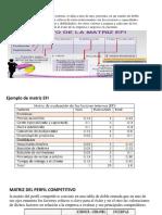 Plan 2 Matrices