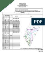 Ejercicio de Topografía - Método de Intersección de Visuales