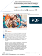 Los Valores Los Inculcan Los Padres, No La Escuela - ABC.es
