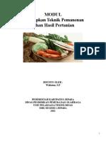 Modul Menerapkan Teknik Pemanenan Bahan Hasil Pertanian