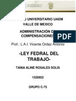 LEY FEDERAL DEL TRABAJO PRESTACIONES.docx
