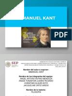 Filosofía de Kant