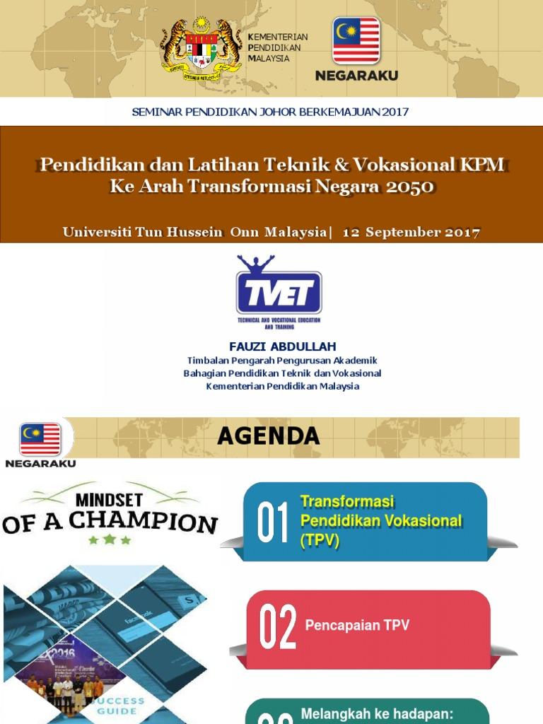 Pltv Kpm Ke Arah Transformasi Negara 2050 Converted