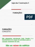 5 Encontro Fundações Diretas e Indiretas