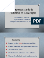 Importancia de La Pediatria