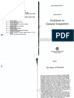 Benveniste Emile - Problems in General Linguistics 1