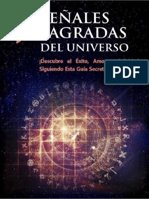7 Señales Sagradas Del Universo Pdf Sueño Universo