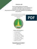 Cover, Lembar Persetujuan, Kata Pengantar, Daftar Isi