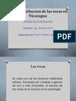 Uso y Distribucion de Las Rocas en Nicaragua