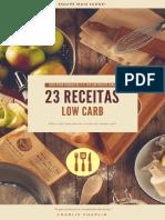 23 Receitas - Low Carb - Guia Para Perder de 5 a 7kg