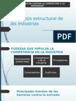 El Análisis Estructural de Las Industrias