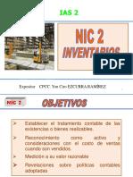 NIC 2 Inventarios Abril 2019
