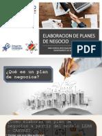 Elaboracion de Planes de Negocio