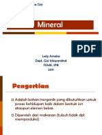 Mineral 2012