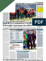 La Provincia Di Cremona 08-05-2019 - Serie B