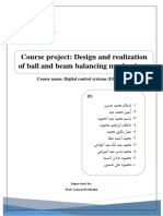 Design and Realization of Ball and Beam