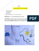 Solar Bottle Bulb small report